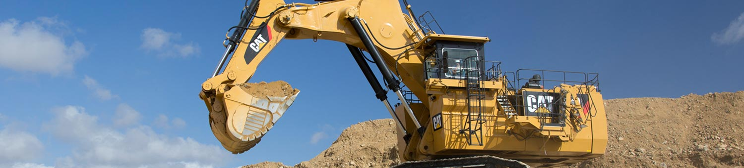 cat hydraulic mining shovels
