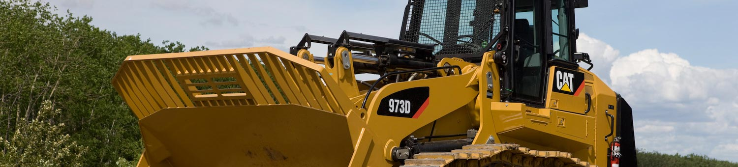 cat track loaders