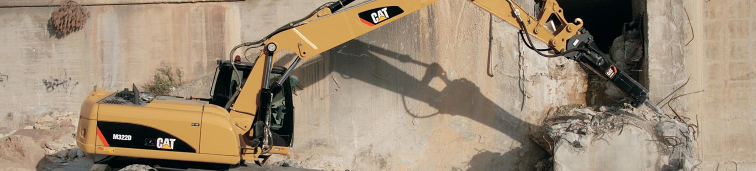 cat wheel excavators