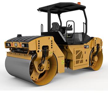 VIBRATORY DOUBLE DRUM ASPHALT - Cat Heavy Equipment Services - Al Bahar