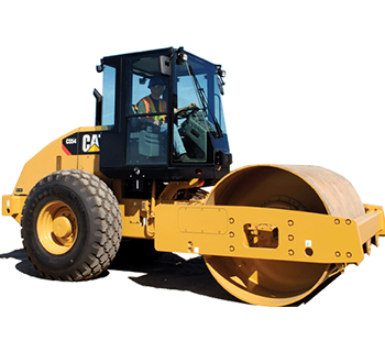 VIBRATORY SINGLE DRUM SMOOTH - Cat Heavy Equipment Services - Al Bahar