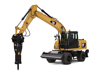 WHEEL EXCAVATOR - Cat Heavy Equipment Services - Al Bahar