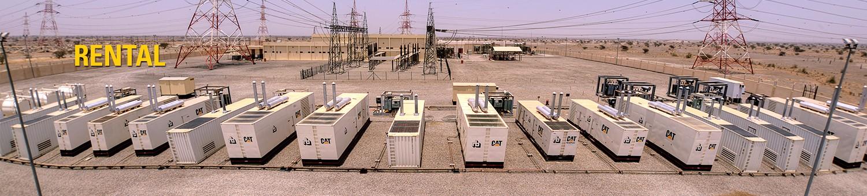 cat generator rental