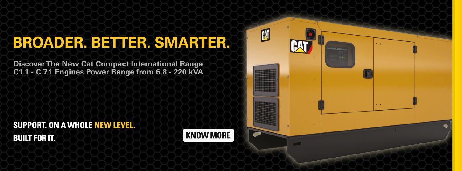 Cat Compact Diesel Generators