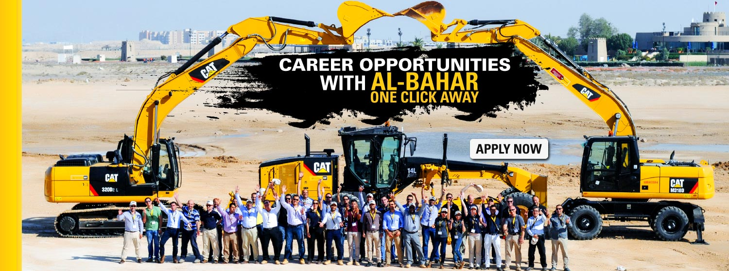Al-Bahar Careers - Catepillar Engines