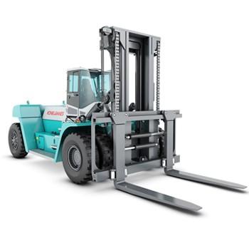10 – 18 TON lifted trucks