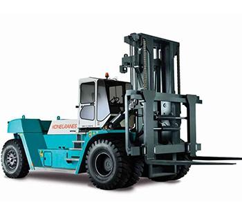 37 – 65 TON lifted trucks