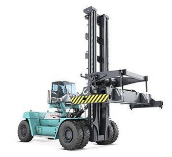 CONTAINER HANDLING, 10 TO 45 TONS lifted trucks