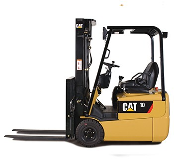 Cat-Electic-Forklift lifted trucks