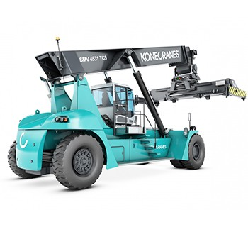 INDUSTRIAL HANDLING, 35 TO 80 TONS lifted trucks