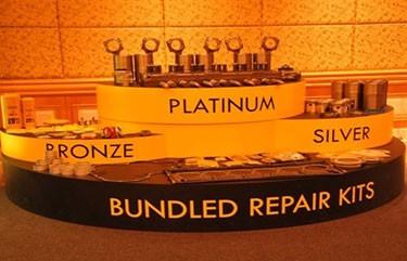 Cat Bundled Repair Kits on display