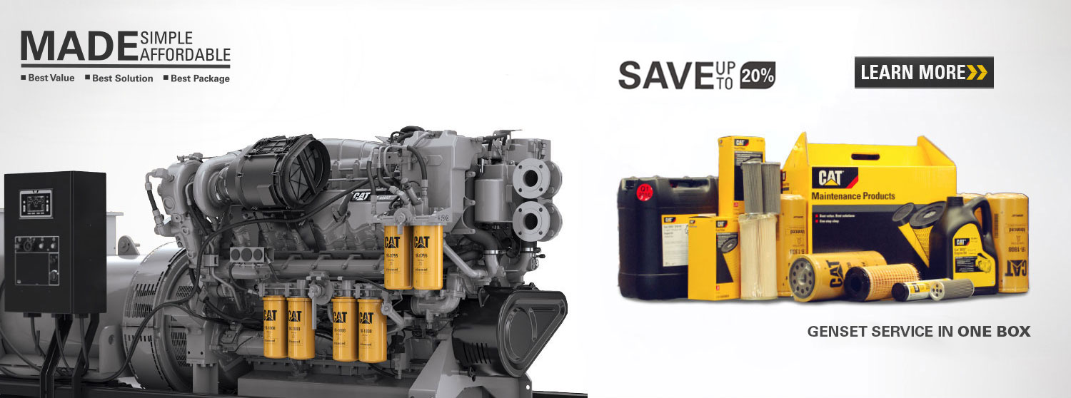 Cat Preventive Maintenance Kits Gensets - Catepillar Equipments