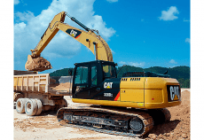 Caterpillar: New 320D2L excavator more efficient