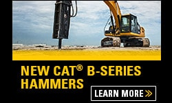 CAT B-SERIES HAMMERS - Heavy equipments rental