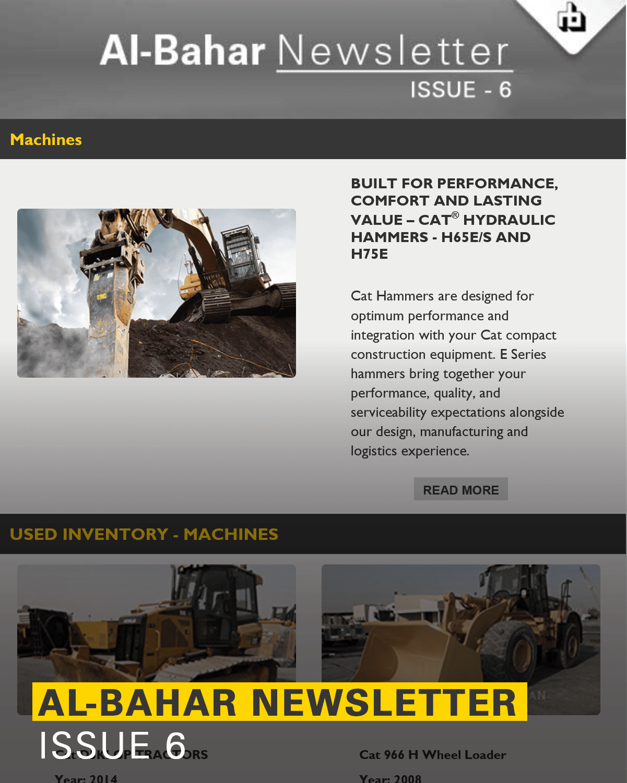 Al-Bahar October 2017 Newsletter