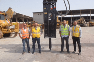 Al Jaber Chooses Cat® B Series Hammers For High Standards Of Efficiency And Productivity