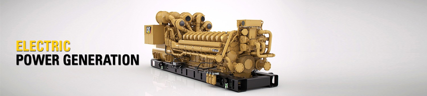 Cat® Generator Sets for Sale & Rent - Al-Bahar | UAE, Kuwait