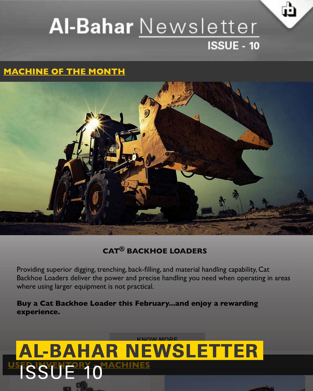 Al-Bahar February 2018 Newsletter