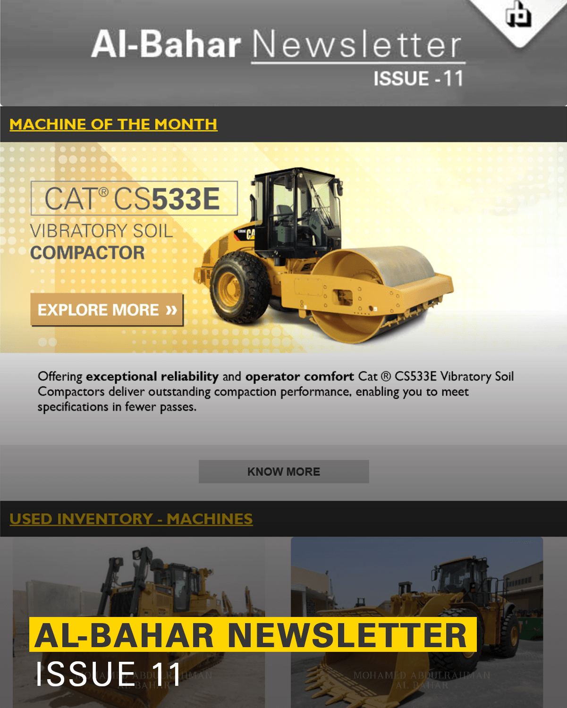 Al-Bahar March 2018 Newsletter