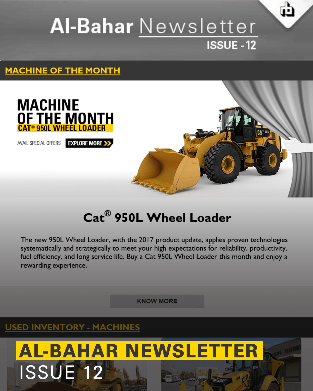 Al-Bahar April 2018 Newsletter