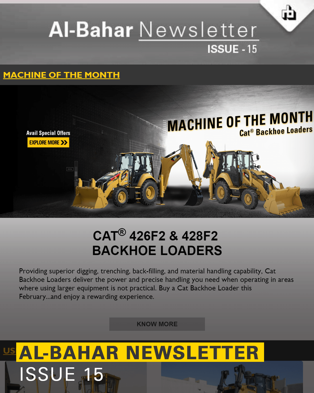 Al-Bahar July 2018 Newsletter