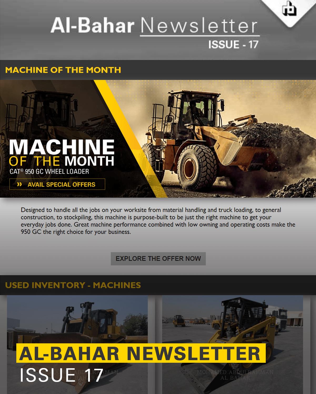Al-Bahar September 2018 Newsletter