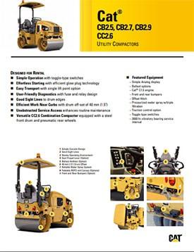 CB2.5 Compactor Promotion