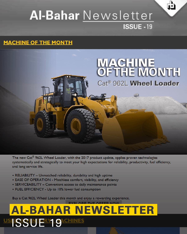 Al-Bahar November 2018 Newsletter