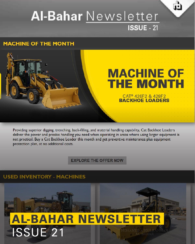 Al-Bahar January 2019 Newsletter