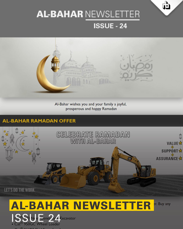 Al-Bahar April 2019 Newsletter