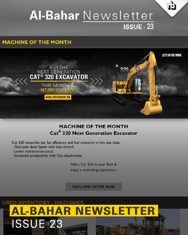 Al-Bahar March 2019 Newsletter