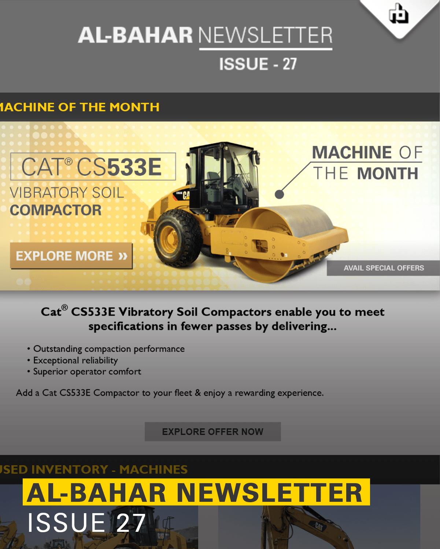 Al-Bahar July 2019 Newsletter