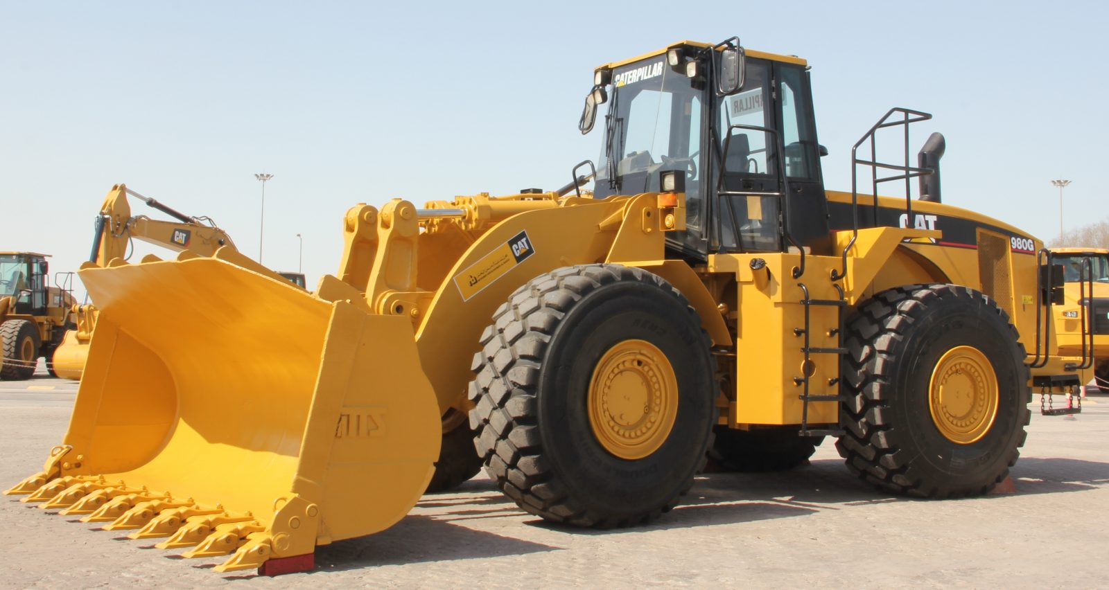 Al-Bahar rebuilds CAT<sup>®</sup> 980G Wheel Loader giving the machine a full second life