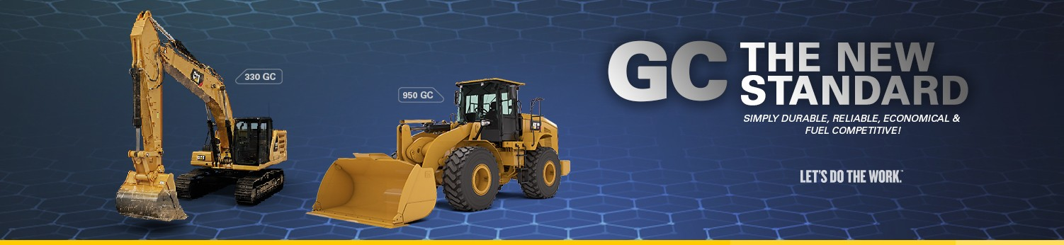 Setting The New Standards In Heavy Equipment - Al-Bahar Introduces The Cat<sup>®</sup> GC Range