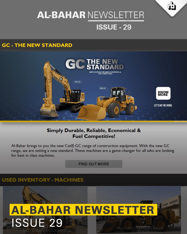 Al-Bahar October 2019 Newsletter