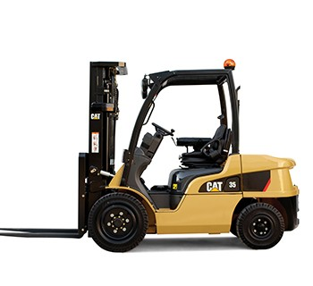 Cat-LPG-Forklift lifted trucks