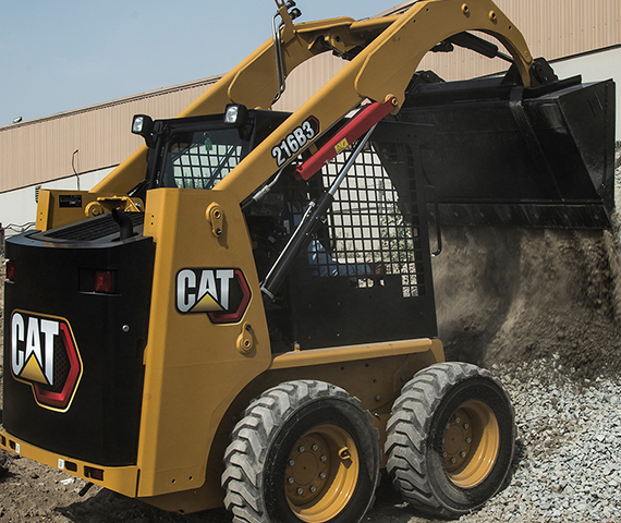 Equipment Safety on Cat<sup>®</sup> B3 Series Skid Steer Loaders