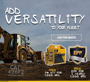 CAT® 426F2 WITH FREE EPP + PMKIT