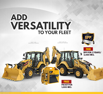 CAT®️ 426F2 & 428 WITH FREE EPP + PMKIT